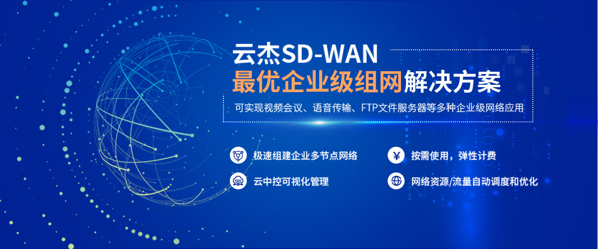 企業SD-WAN多云組網