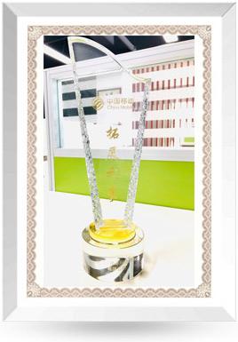 中國移動拓展之星獎杯