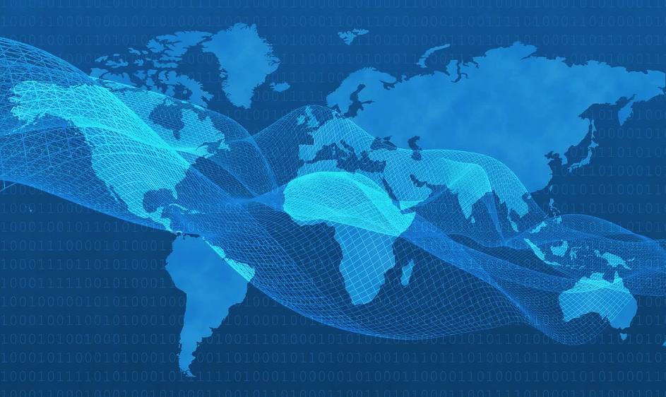 如何推动国内及其他地区的企业网络连接?