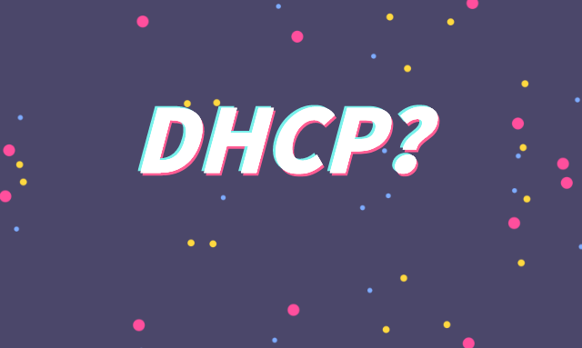 什么是DHCP?