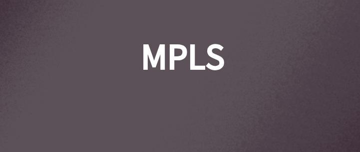MPLS专业释义:什么是多协议标签交换?