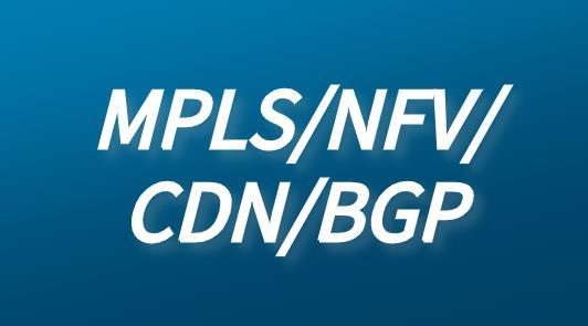 通信技術MPLS/NFV/CDN/BGP定義