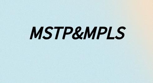 為什么說MSTP是物理隔離?MPLS是邏輯隔離?