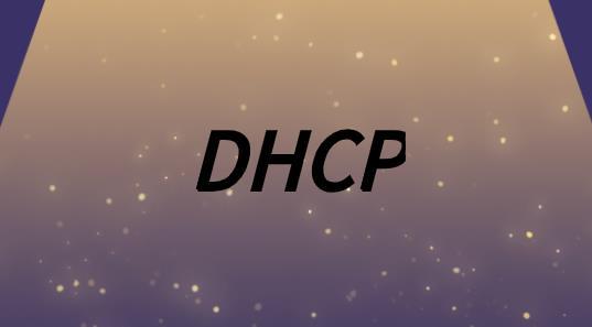 DHCP服务器配置原理