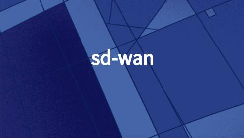 SD-WAN的实际运用场景