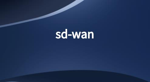企业WAN技术:SD-WAN