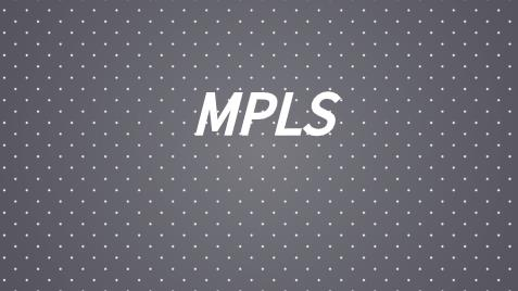 MPLS网络结构